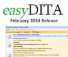 easyDITA New Release - February 2014